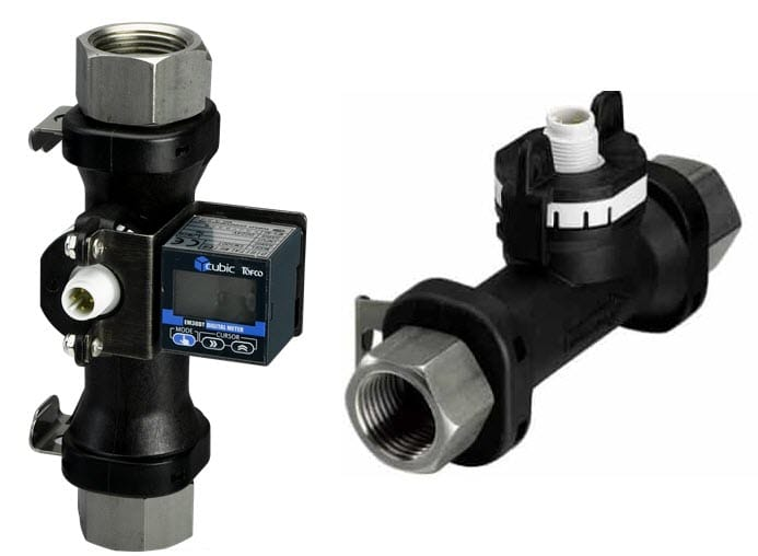 vortex flow meters with pulse output
